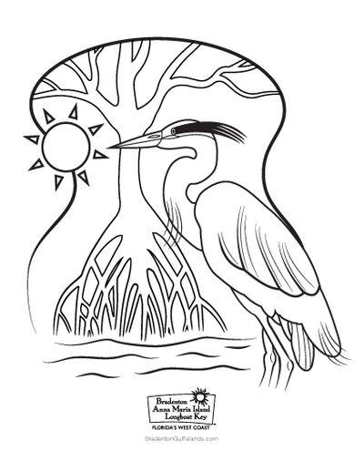 BACVB Coloring Sheet Haron Thumbnail