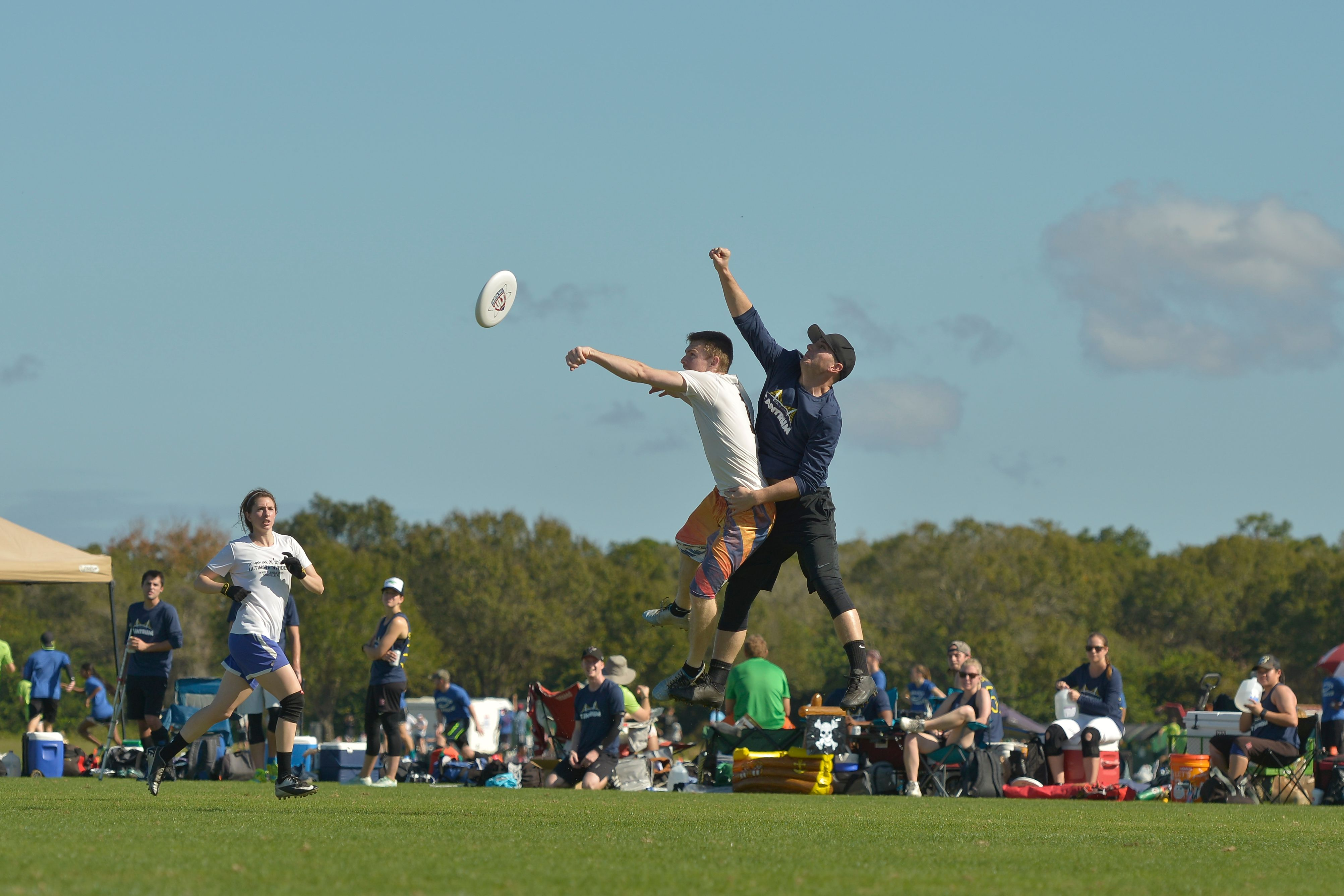 Frisbee Sporting Event
